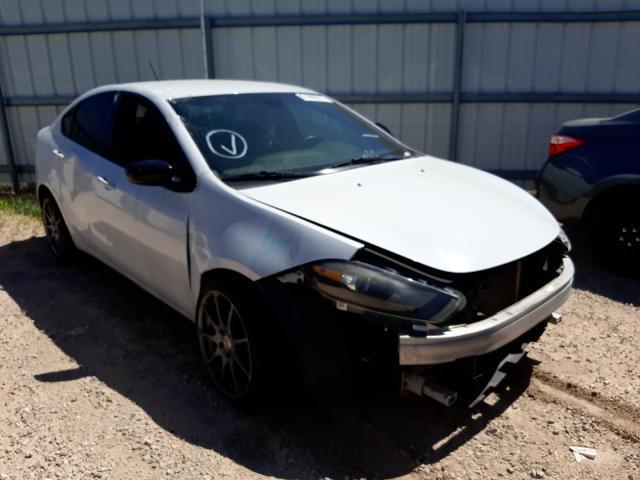Salvage cars for sale at Tucson, AZ auction: 2015 Dodge Dart SXT