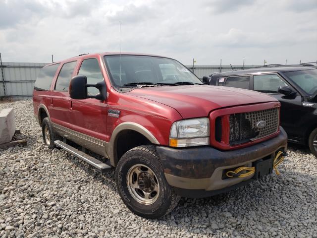 Vehiculos salvage en venta de Copart Appleton, WI: 2004 Ford Excursion