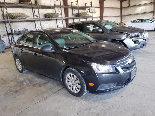 Salvage cars for sale at Eldridge, IA auction: 2011 Chevrolet Cruze LS