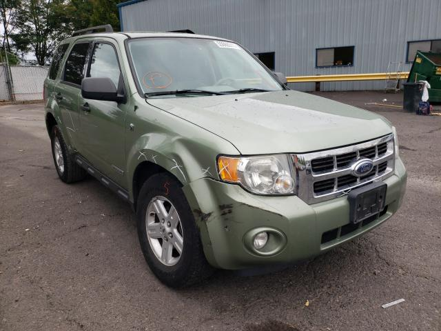 Salvage cars for sale from Copart Portland, OR: 2008 Ford Escape HEV