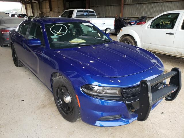 Salvage cars for sale from Copart Greenwell Springs, LA: 2019 Dodge Charger PO