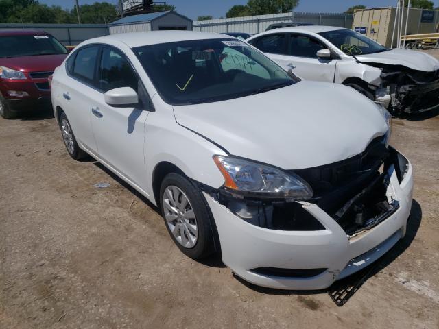 Vehiculos salvage en venta de Copart Wichita, KS: 2014 Nissan Sentra S