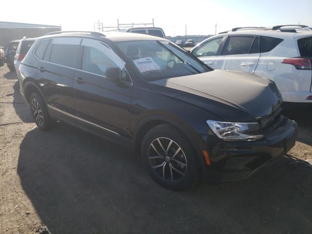 Rental Vehicles for sale at auction: 2021 Volkswagen Tiguan SE