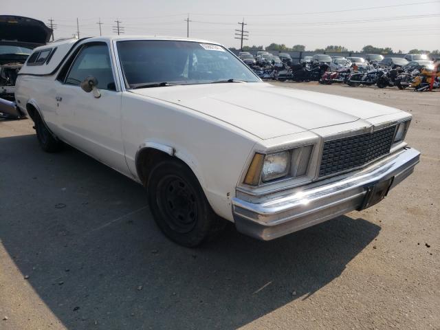 Chevrolet EL Camino salvage cars for sale: 1977 Chevrolet EL Camino