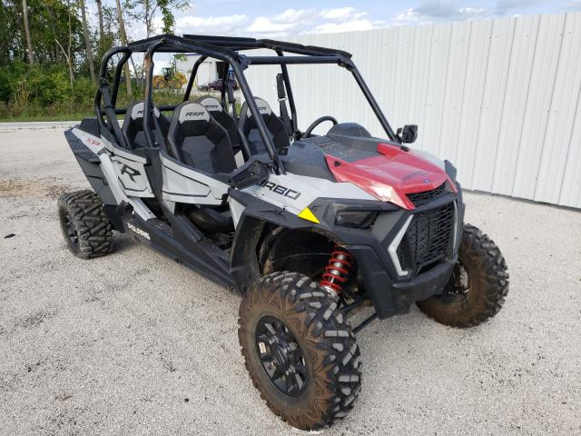Salvage cars for sale from Copart Milwaukee, WI: 2021 Polaris RZR XP 4 T