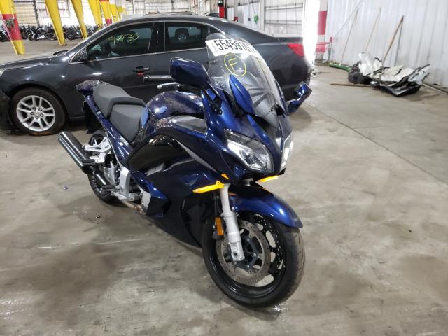 Salvage cars for sale from Copart Woodburn, OR: 2016 Yamaha FJR1300 A