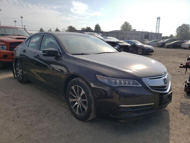 Salvage cars for sale at Finksburg, MD auction: 2017 Acura TLX