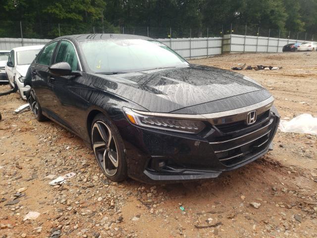 Vehiculos salvage en venta de Copart Austell, GA: 2021 Honda Accord Sport