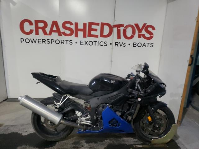 Salvage cars for sale from Copart Kansas City, KS: 2003 Yamaha YZFR6 L