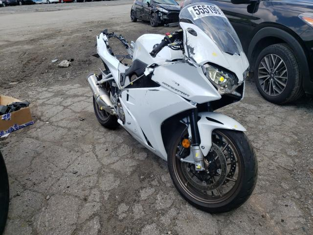Salvage cars for sale from Copart West Mifflin, PA: 2014 Honda VFR800 F