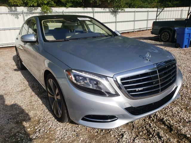 Salvage cars for sale from Copart Knightdale, NC: 2015 Mercedes-Benz S 550