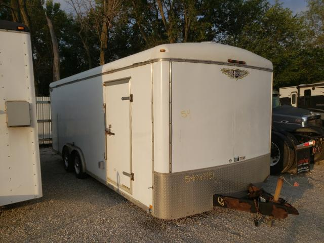 H&H salvage cars for sale: 2003 H&H Trailer