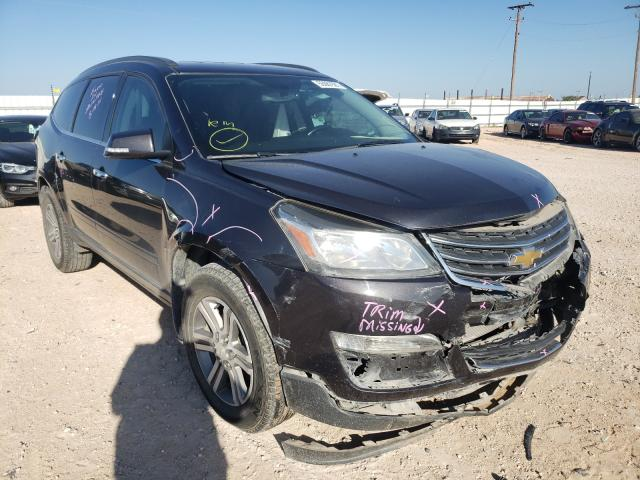 Salvage cars for sale from Copart Andrews, TX: 2016 Chevrolet Traverse L