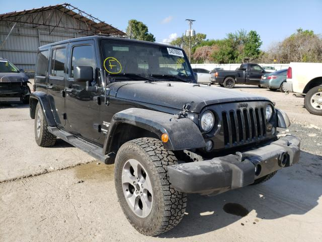 Salvage cars for sale from Copart Corpus Christi, TX: 2017 Jeep Wrangler U