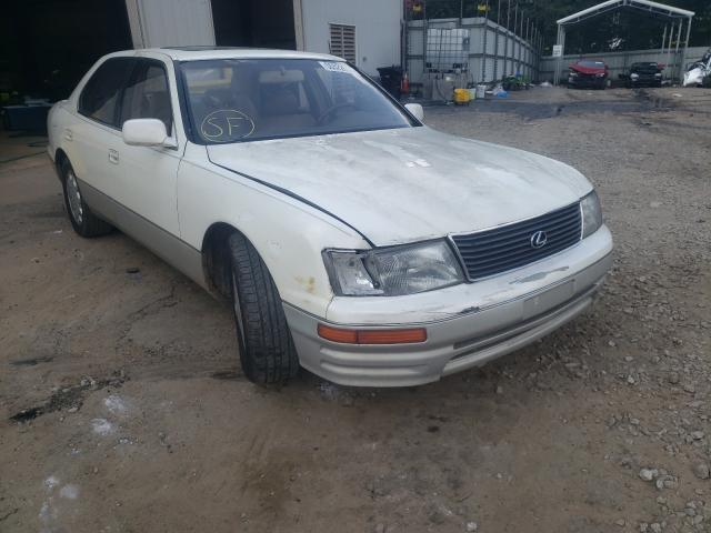 Salvage cars for sale from Copart Austell, GA: 1996 Lexus LS 400