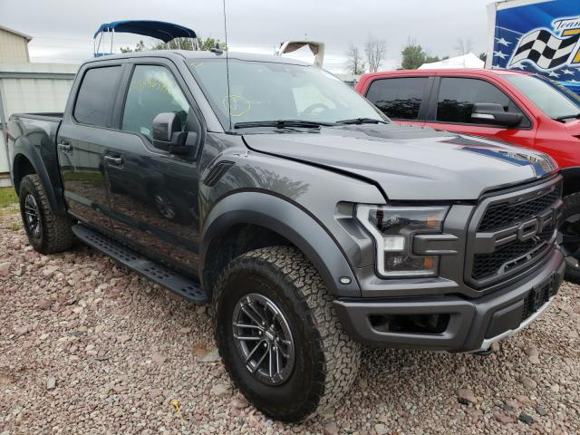 Salvage cars for sale from Copart Central Square, NY: 2019 Ford F150 Rapto