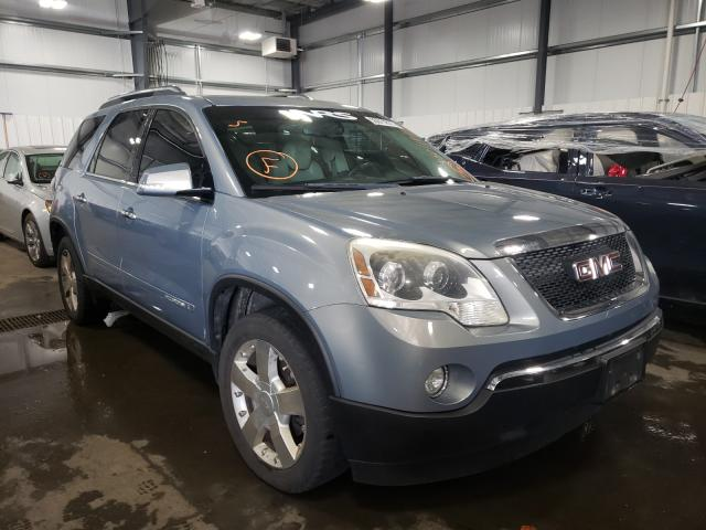 Salvage cars for sale from Copart Ham Lake, MN: 2007 GMC Acadia SLT