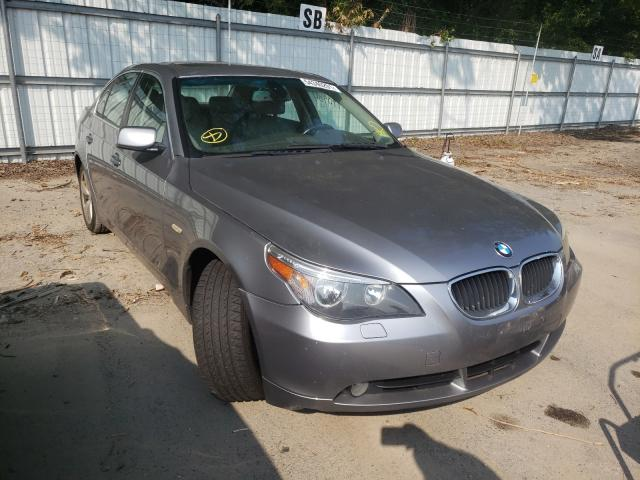 Salvage cars for sale from Copart Glassboro, NJ: 2006 BMW 525 XI