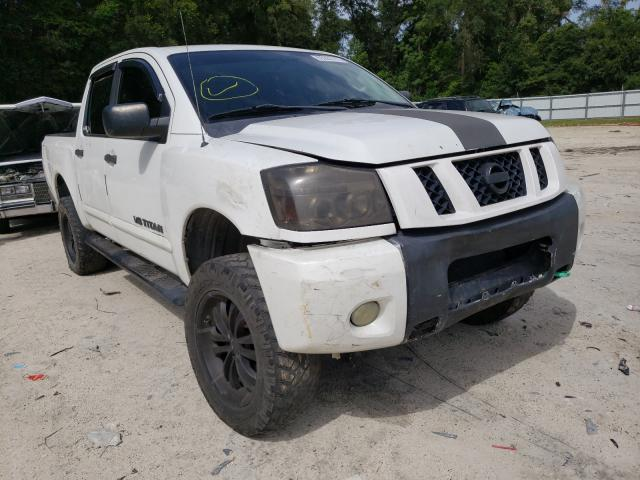 Salvage cars for sale from Copart Ocala, FL: 2012 Nissan Titan S