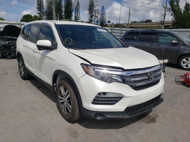 Vehiculos salvage en venta de Copart Miami, FL: 2016 Honda Pilot EX