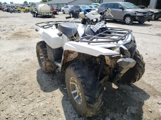 Salvage cars for sale from Copart Sikeston, MO: 2018 Yamaha YFM700 FWA
