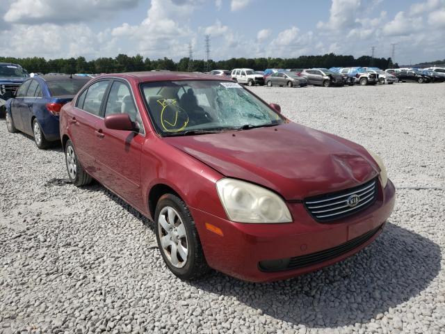 Salvage cars for sale at Memphis, TN auction: 2006 KIA Optima LX