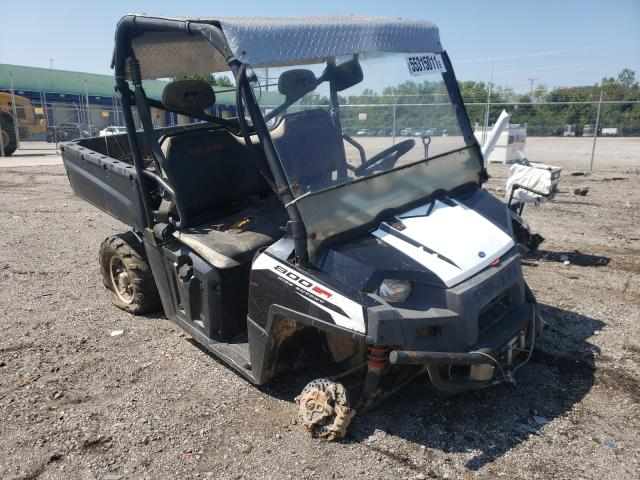 Salvage cars for sale from Copart Columbus, OH: 2013 Polaris Ranger 800