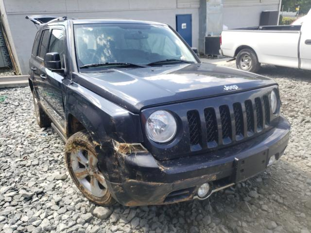 Salvage cars for sale from Copart Mebane, NC: 2014 Jeep Patriot LI