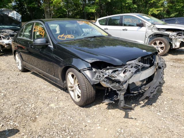 Salvage cars for sale from Copart Lyman, ME: 2012 Mercedes-Benz C 300 4matic