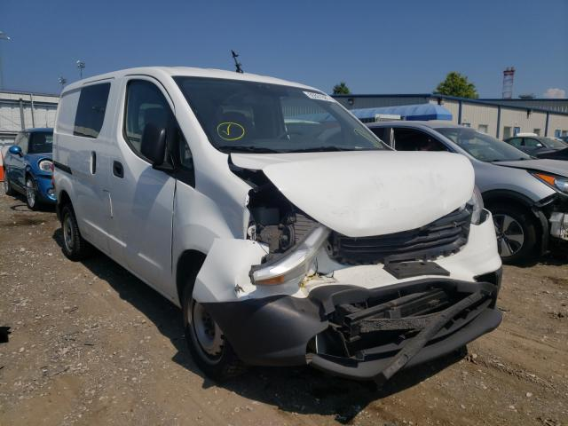 Salvage trucks for sale at Finksburg, MD auction: 2015 Chevrolet City Expre