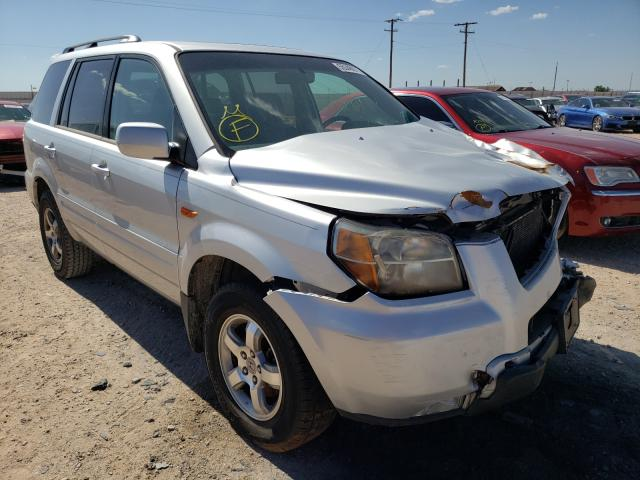 Salvage cars for sale from Copart Andrews, TX: 2007 Honda Pilot EXL