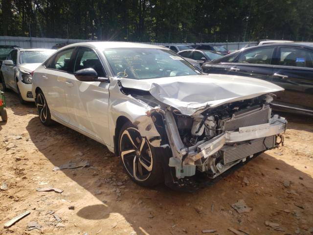 Salvage cars for sale from Copart Austell, GA: 2021 Honda Accord Sport