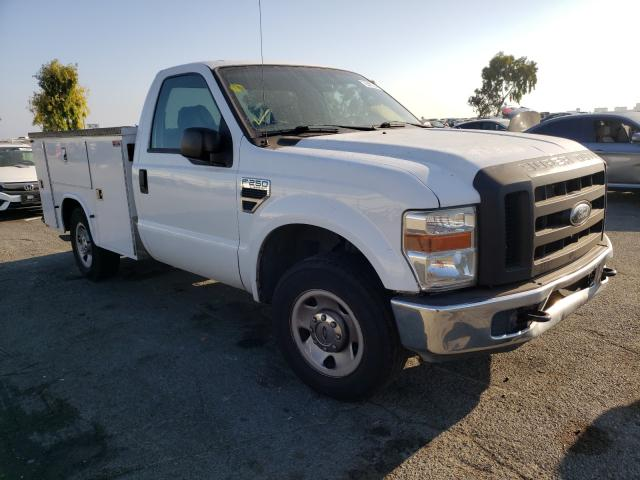 Salvage cars for sale from Copart Martinez, CA: 2008 Ford F250 Super