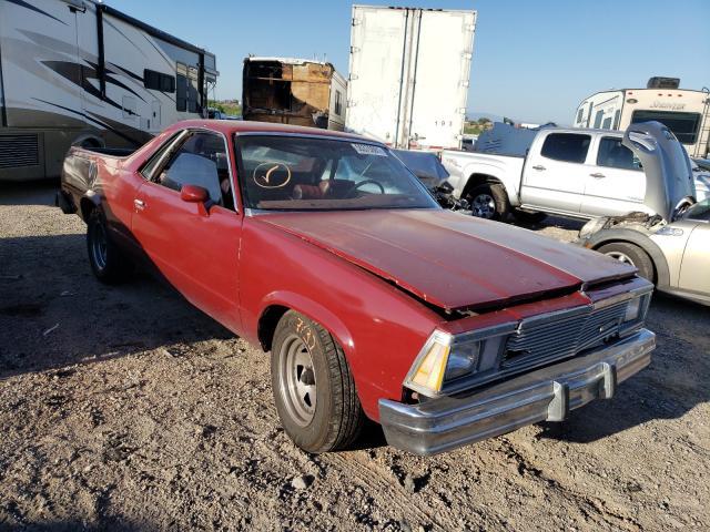 Chevrolet EL Camino salvage cars for sale: 1981 Chevrolet EL Camino
