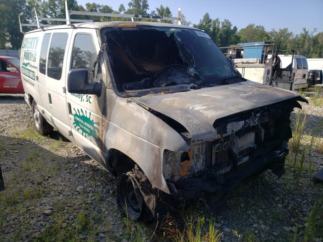 Salvage cars for sale from Copart Spartanburg, SC: 2011 Ford Econoline