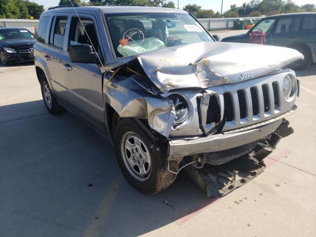 Vehiculos salvage en venta de Copart Wilmer, TX: 2016 Jeep Patriot SP