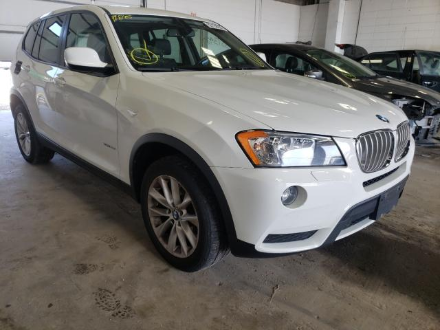 Salvage cars for sale from Copart Blaine, MN: 2014 BMW X3 XDRIVE2
