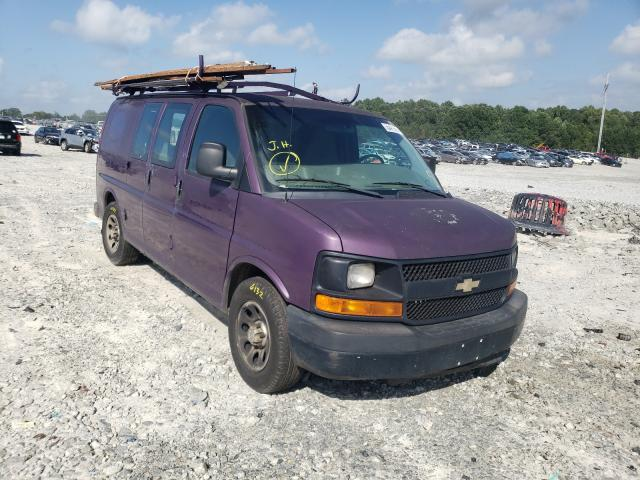 Vehiculos salvage en venta de Copart Loganville, GA: 2012 Chevrolet Express G1