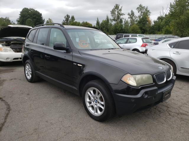 Vehiculos salvage en venta de Copart Portland, OR: 2004 BMW X3 2.5I
