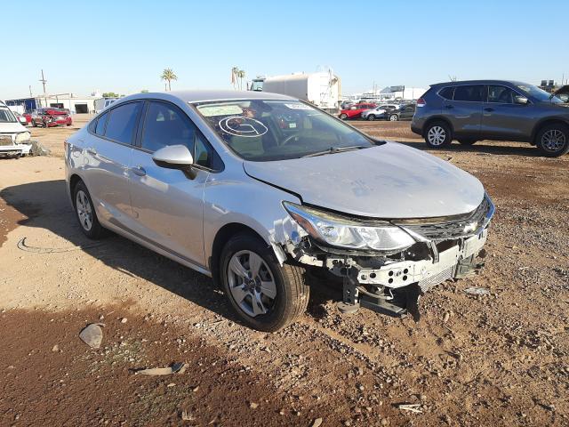 Salvage cars for sale from Copart Phoenix, AZ: 2017 Chevrolet Cruze LS
