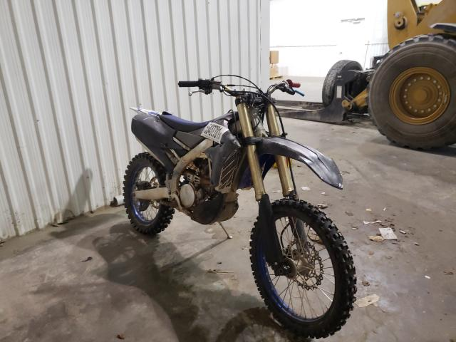 Salvage cars for sale from Copart Tulsa, OK: 2021 Yamaha YZ250 FX