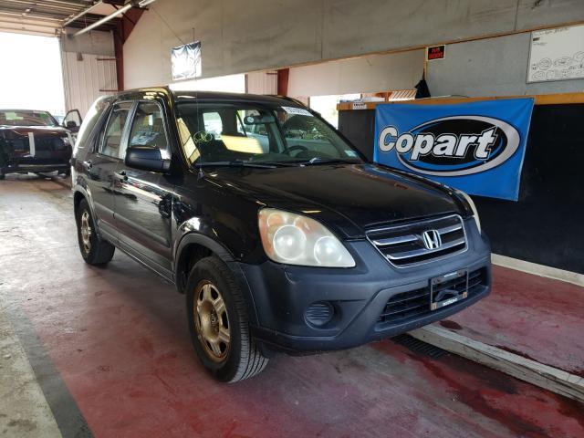 Vehiculos salvage en venta de Copart Angola, NY: 2005 Honda CR-V LX