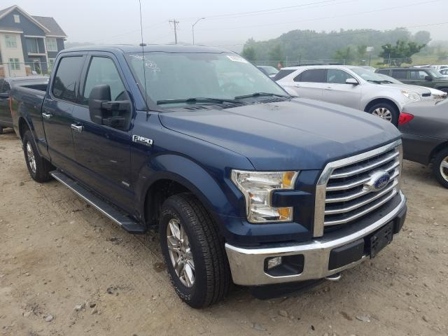 Salvage cars for sale from Copart Madison, WI: 2015 Ford F150 Super