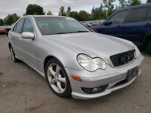 Salvage cars for sale from Copart Portland, OR: 2005 Mercedes-Benz C 230K Sport