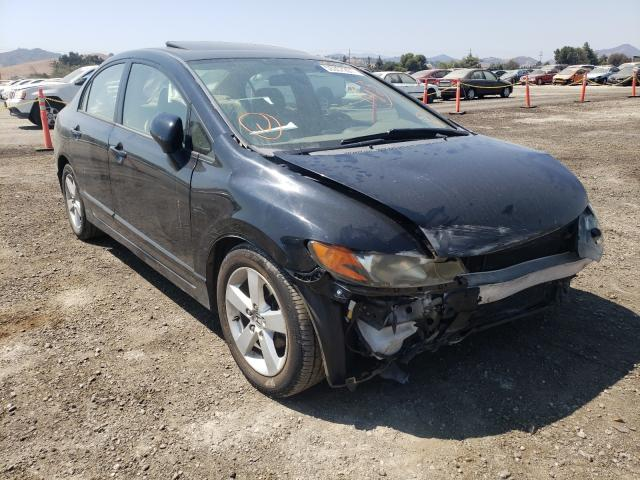 Salvage cars for sale from Copart San Martin, CA: 2006 Honda Civic EX