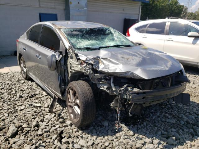 Salvage cars for sale from Copart Mebane, NC: 2014 Nissan Sentra S