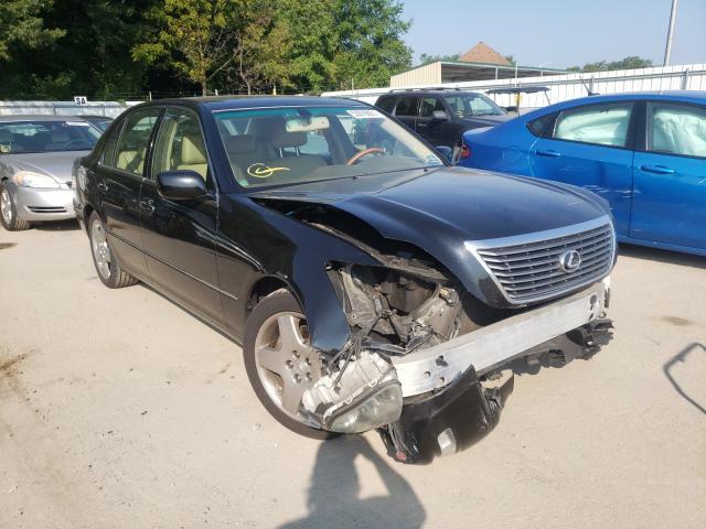 Salvage cars for sale from Copart Glassboro, NJ: 2005 Lexus LS 430