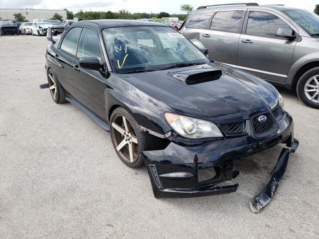 Salvage cars for sale from Copart Orlando, FL: 2006 Subaru Impreza WR