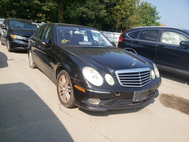 Salvage cars for sale from Copart Glassboro, NJ: 2009 Mercedes-Benz E 350 4matic