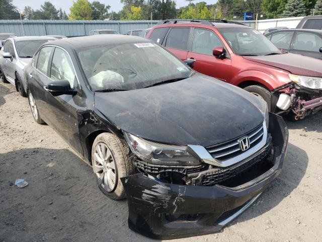 Salvage cars for sale from Copart Albany, NY: 2015 Honda Accord EX